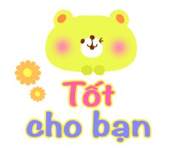 Message to children (Vietnamese) sticker #2307928