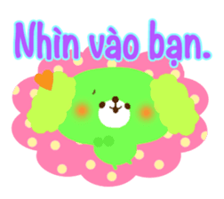 Message to children (Vietnamese) sticker #2307936
