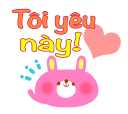Message to children (Vietnamese) sticker #2307942