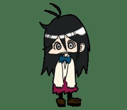 Cardigan schoolgirl sticker #2308675