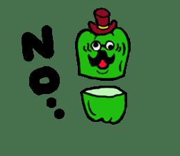 kawaii vegetables sticker #2309266