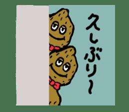 kawaii vegetables sticker #2309276