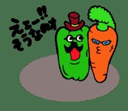 kawaii vegetables sticker #2309278