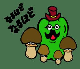 kawaii vegetables sticker #2309280