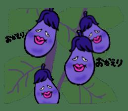 kawaii vegetables sticker #2309286