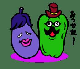 kawaii vegetables sticker #2309287