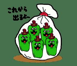 kawaii vegetables sticker #2309292