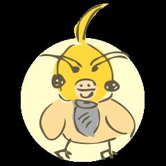 Parakeet Sticker