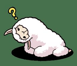 Alpaca wooly sticker #2320950