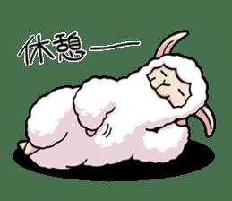 Alpaca wooly sticker #2320959