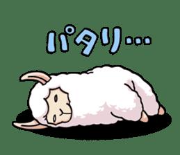 Alpaca wooly sticker #2320960