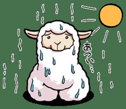 Alpaca wooly sticker #2320973