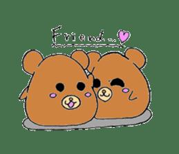 Round animals sticker #2326341