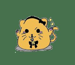 Round animals sticker #2326352
