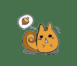 Round animals sticker #2326356