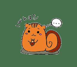 Round animals sticker #2326368