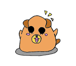 Round animals sticker #2326372