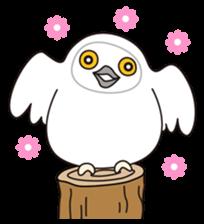 snowy owl sticker #2327104
