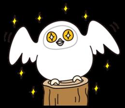 snowy owl sticker #2327105