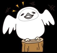 snowy owl sticker #2327112