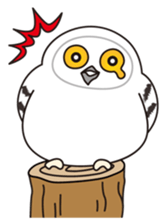 snowy owl sticker #2327118