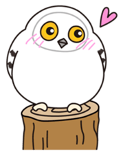 snowy owl sticker #2327121