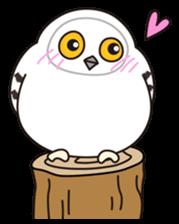 snowy owl sticker #2327121