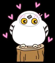 snowy owl sticker #2327122