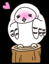 snowy owl sticker #2327124