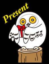 snowy owl sticker #2327126