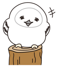 snowy owl sticker #2327133