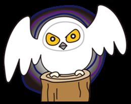 snowy owl sticker #2327135