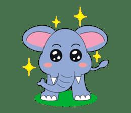 Fah-Sai : Smile elephant sticker #2330418