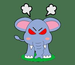 Fah-Sai : Smile elephant sticker #2330423