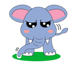 Fah-Sai : Smile elephant sticker #2330424