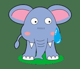 Fah-Sai : Smile elephant sticker #2330426