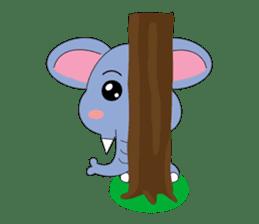 Fah-Sai : Smile elephant sticker #2330427