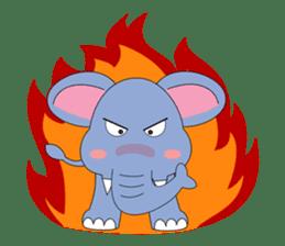 Fah-Sai : Smile elephant sticker #2330431