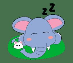 Fah-Sai : Smile elephant sticker #2330438