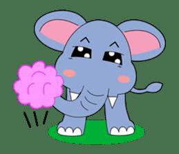 Fah-Sai : Smile elephant sticker #2330440