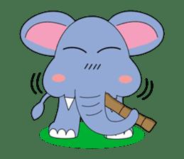 Fah-Sai : Smile elephant sticker #2330442