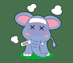 Fah-Sai : Smile elephant sticker #2330443