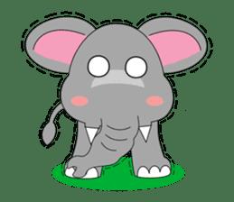 Fah-Sai : Smile elephant sticker #2330447