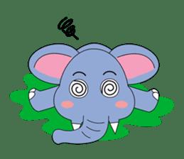 Fah-Sai : Smile elephant sticker #2330448