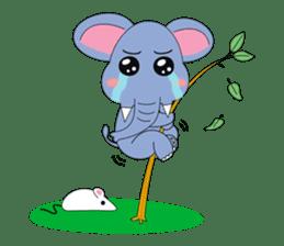 Fah-Sai : Smile elephant sticker #2330449