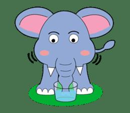 Fah-Sai : Smile elephant sticker #2330452