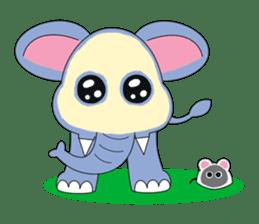 Fah-Sai : Smile elephant sticker #2330453
