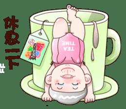 Taiwan grandmother 03 sticker #2337112