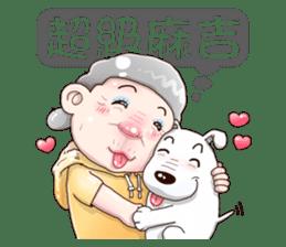 Taiwan grandmother 03 sticker #2337113