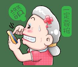 Taiwan grandmother 03 sticker #2337129